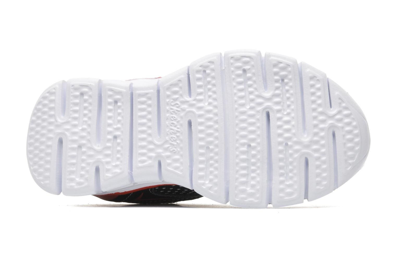 Baskets Skechers Synergy Mini Dash Noir vue haut
