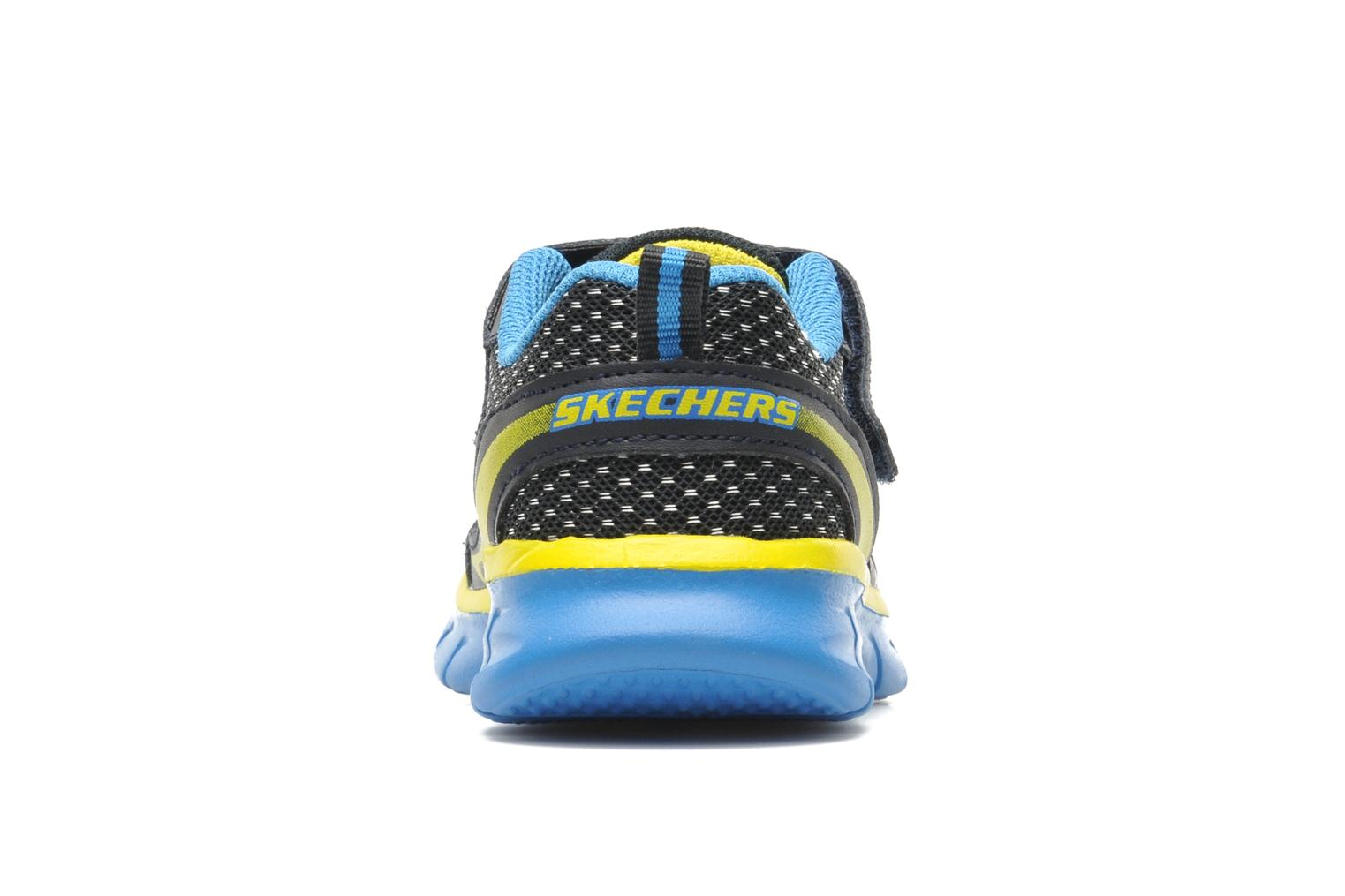 Trainers Skechers Synergy Mini Dash Blue view from the right