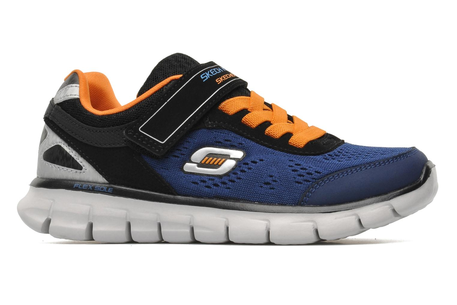 Sneakers Skechers Synergy Power Rush Blauw achterkant