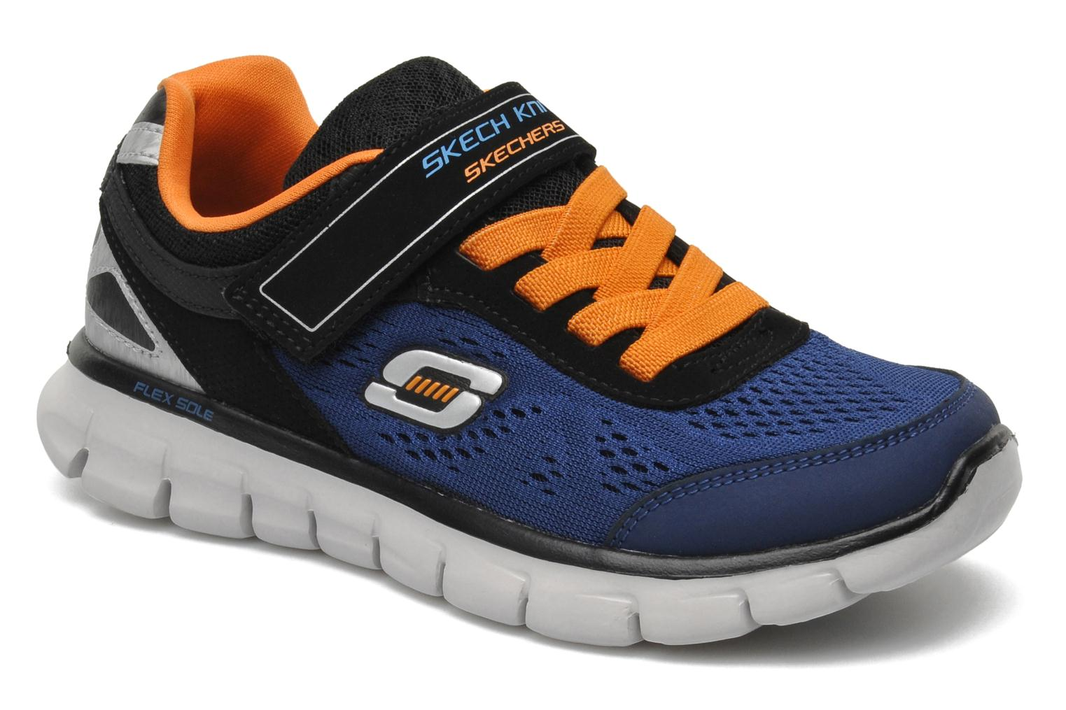 Deportivas Skechers Synergy Power Rush Azul vista de detalle / par