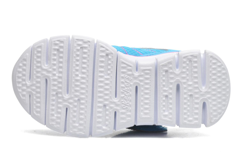 Baskets Skechers Synergy Lovespun Bleu vue haut