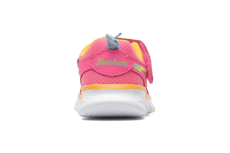 Baskets Skechers Synergy Lovespun Rose vue droite