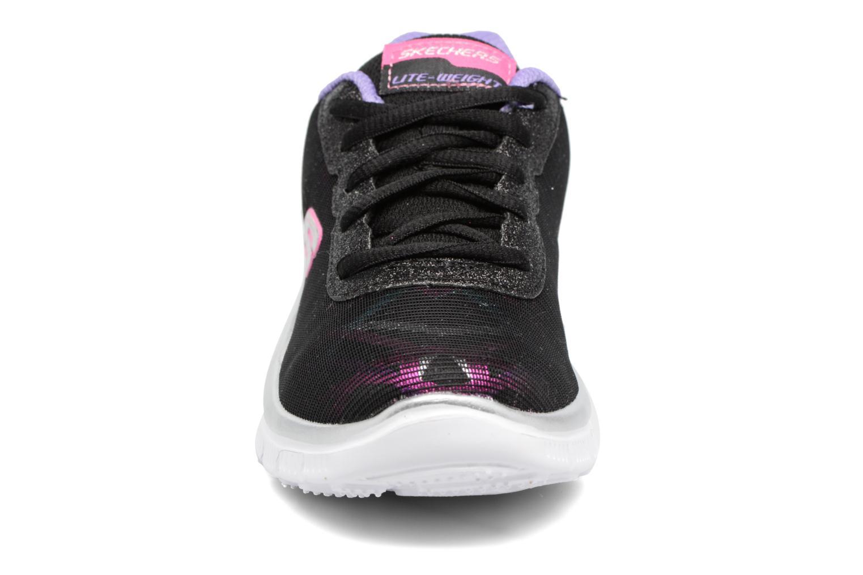 Sneaker Skechers Skech Appeal schwarz schuhe getragen