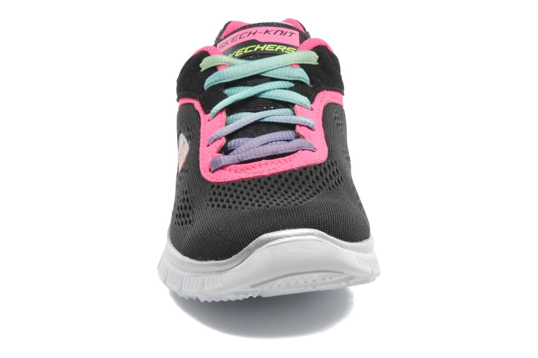 Baskets Skechers Skech Appeal Whimzies Noir vue portées chaussures
