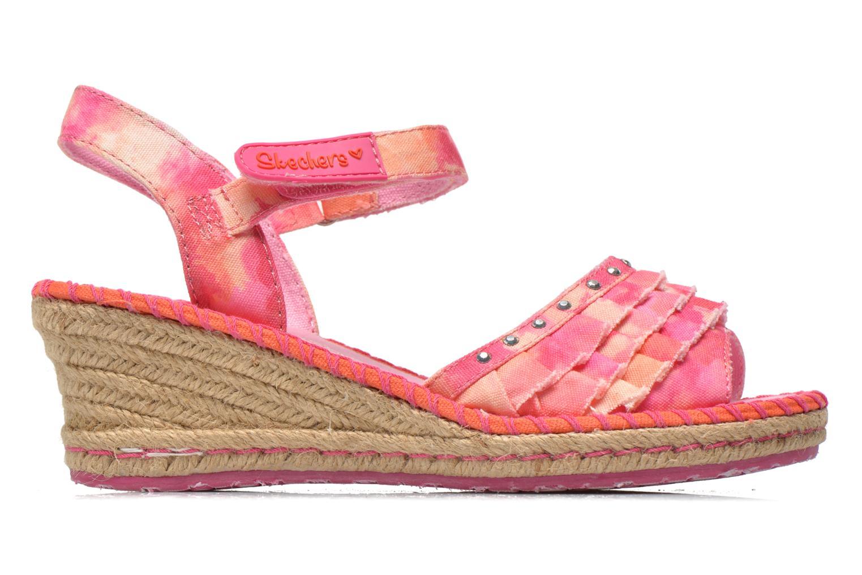 Sandales et nu-pieds Skechers TikisRuffle Ups Rose vue derrière