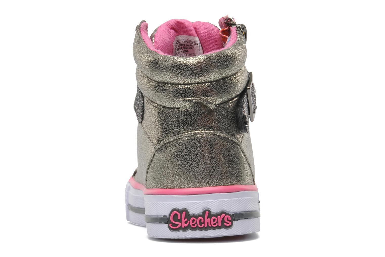 Sneaker Skechers Shuffles Heart & Sole silber ansicht von rechts