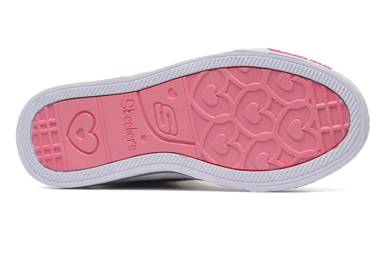 Sneaker Skechers Shuffles Heart & Sole silber ansicht von oben