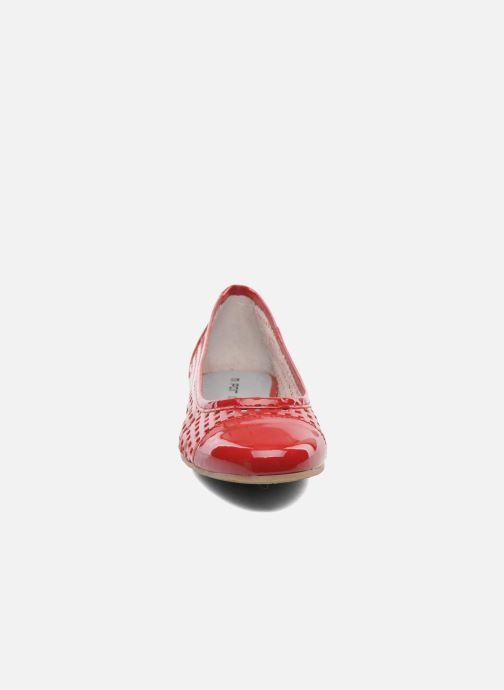 Ballerines M PAR M Hapy Rouge vue portées chaussures