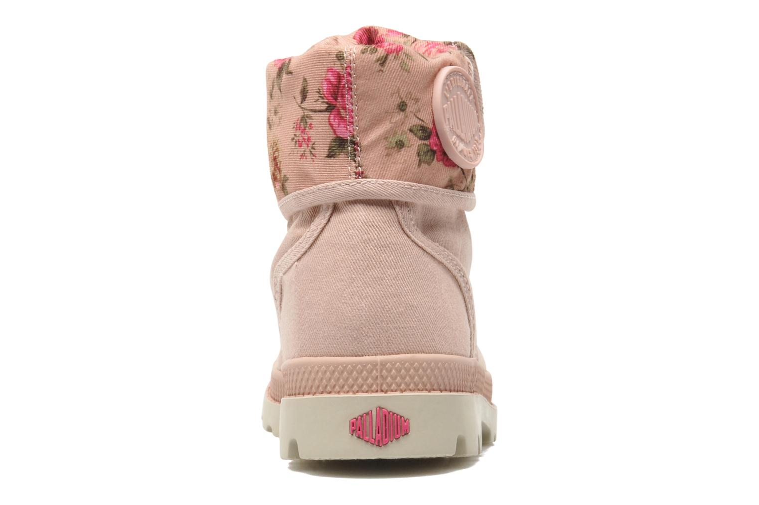 Ankle boots Palladium Baggy Twl K Pink view from the right