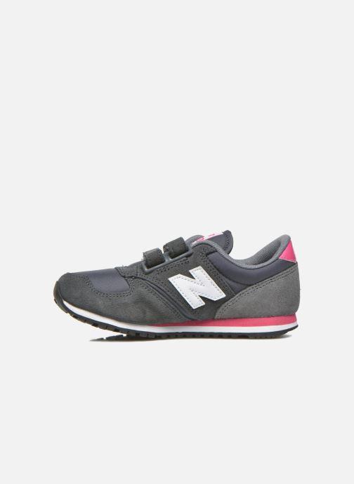 Sneakers New Balance KE420 J Grijs voorkant