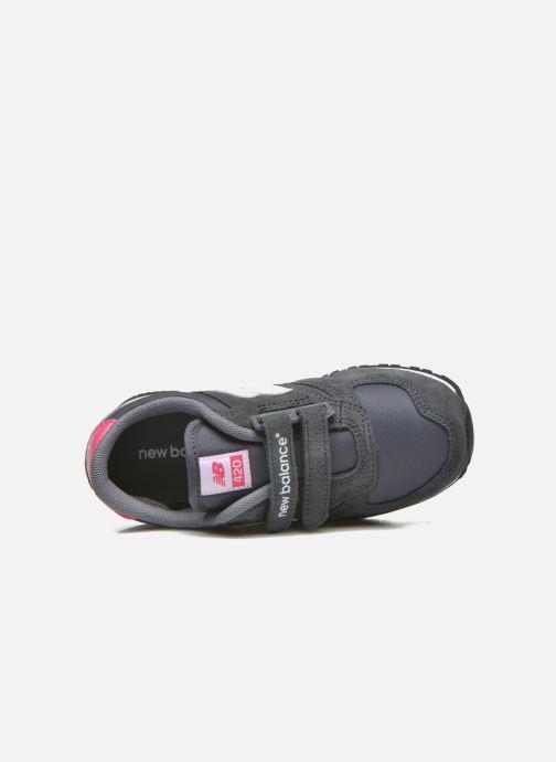 Sneakers New Balance KE420 J Grijs links