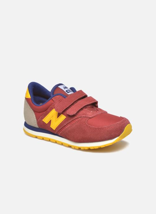 Trainers New Balance KE420 J Red detailed view/ Pair view