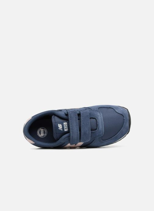 Trainers New Balance KE420 J Blue view from the left