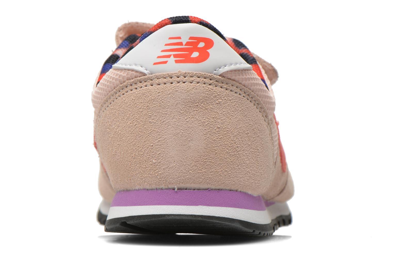 Baskets New Balance KE420 J Beige vue droite