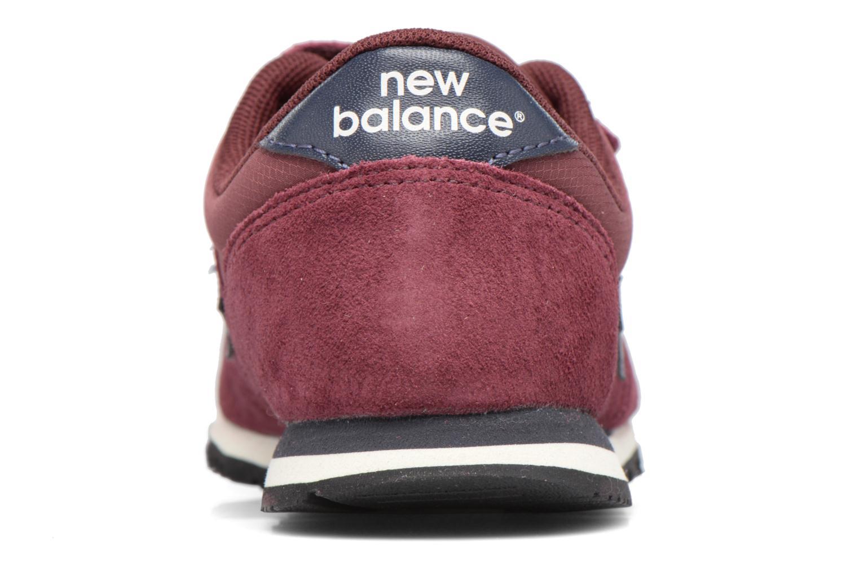 Baskets New Balance KE420 J Bordeaux vue droite