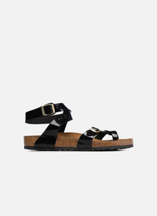 Sandales et nu-pieds Birkenstock Yara Flor W Noir vue derrière