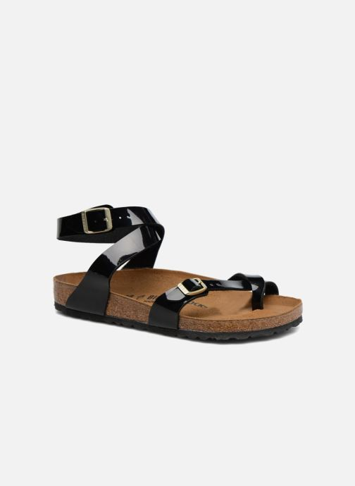 9b637750db0d Birkenstock Yara Flor W (Black) - Sandals chez Sarenza (297630)