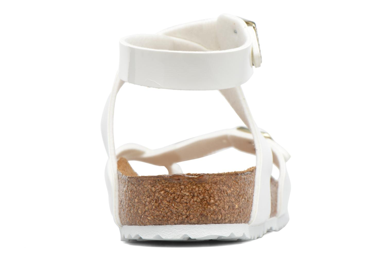 Sandales et nu-pieds Birkenstock Yara Flor W Blanc vue droite