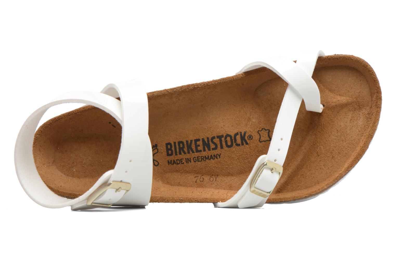 Sandales et nu-pieds Birkenstock Yara Flor W Blanc vue gauche