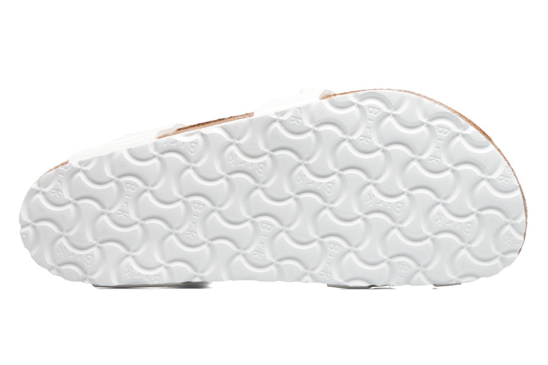 Sandales et nu-pieds Birkenstock Yara Flor W Blanc vue haut