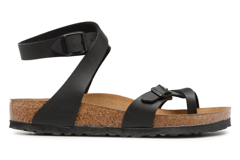 Sandalen Birkenstock Yara Flor W schwarz ansicht von hinten