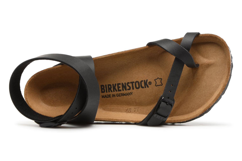 Sandalen Birkenstock Yara Flor W schwarz ansicht von links