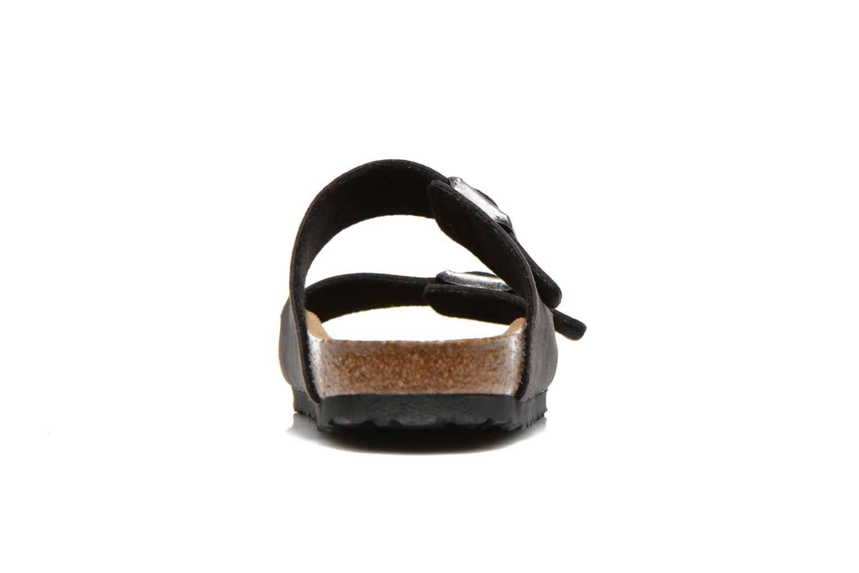 Sandales et nu-pieds Birkenstock Arizona Microfibre M Gris vue droite