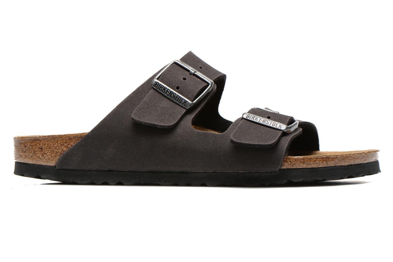 Sandales et nu-pieds Birkenstock Arizona Microfibre M Gris vue derrière