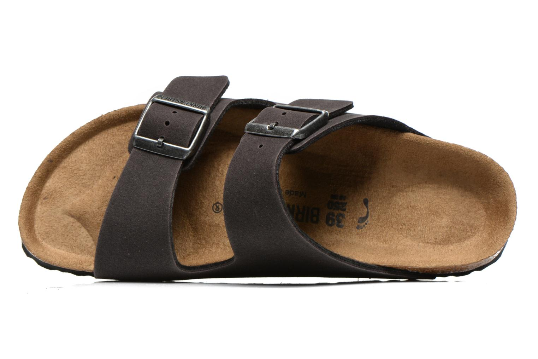 Sandales et nu-pieds Birkenstock Arizona Microfibre M Gris vue gauche