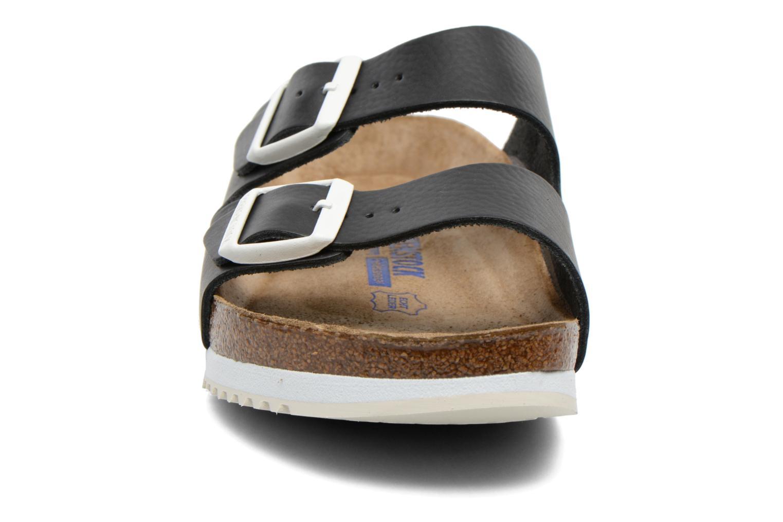 Sandales et nu-pieds Birkenstock Arizona Sl M Noir vue portées chaussures