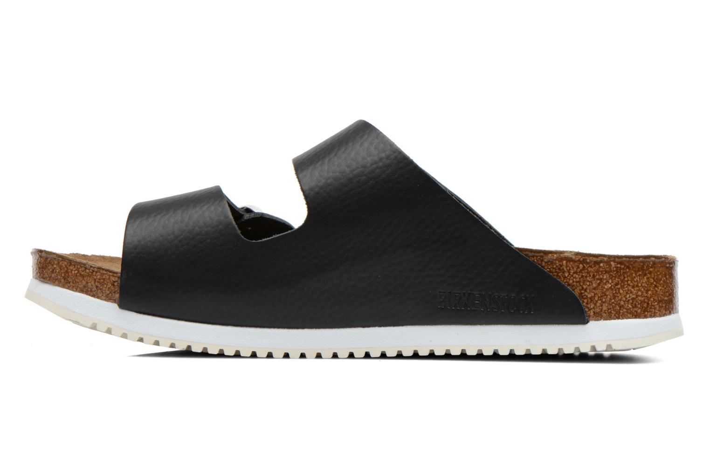 Sandales et nu-pieds Birkenstock Arizona Sl M Noir vue face