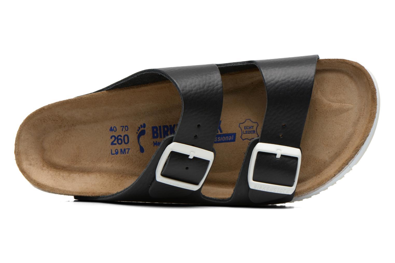 Sandales et nu-pieds Birkenstock Arizona Sl M Noir vue gauche