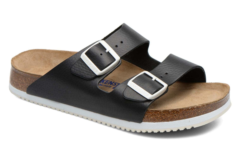 Sandales et nu-pieds Birkenstock Arizona Sl M Noir vue détail/paire