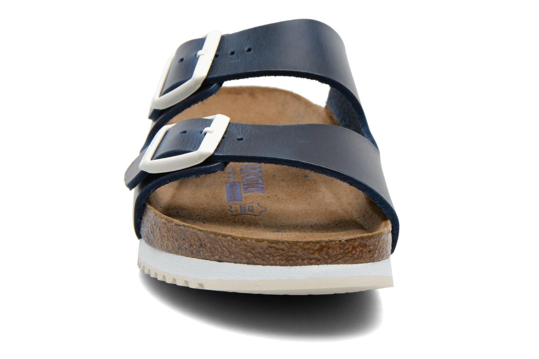 Sandales et nu-pieds Birkenstock Arizona Sl M Bleu vue portées chaussures