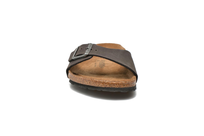 Sandales et nu-pieds Birkenstock Madrid Microfibre M Gris vue 3/4