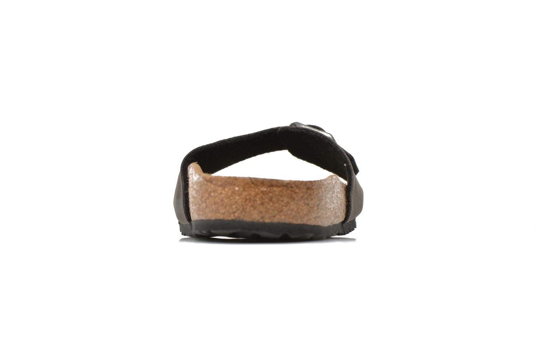 Sandales et nu-pieds Birkenstock Madrid Microfibre M Gris vue face