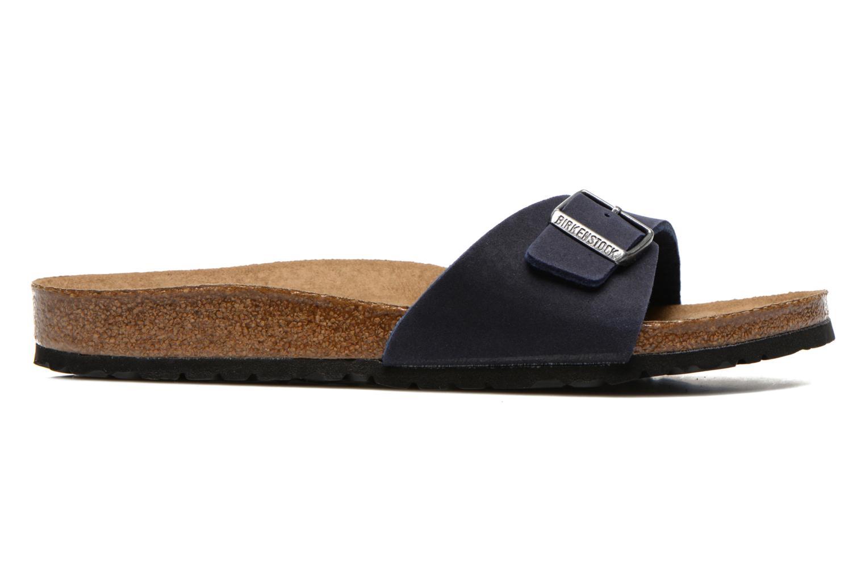 Sandales et nu-pieds Birkenstock Madrid Microfibre M Bleu vue derrière