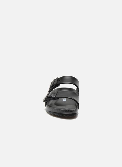 Clogs & Pantoletten Birkenstock Arizona EVA Women II schwarz schuhe getragen