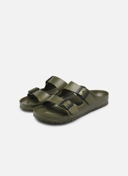 Mules & clogs Birkenstock Arizona EVA W Green view from underneath / model view