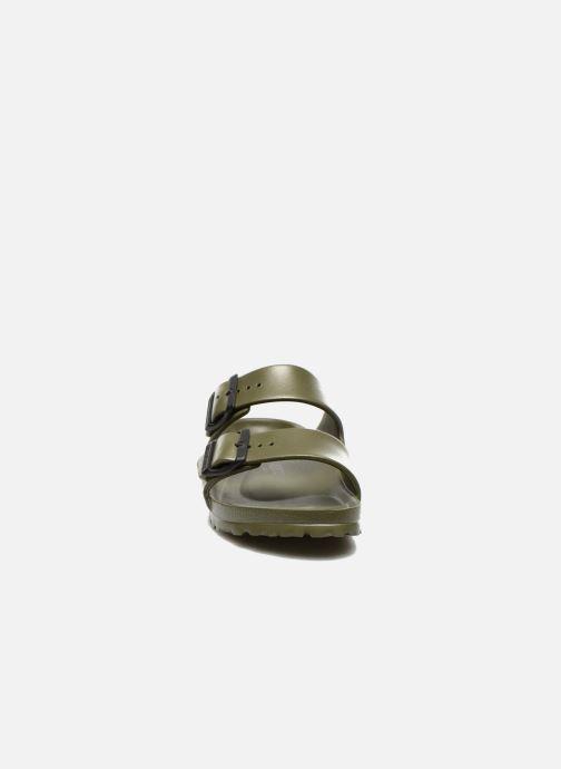 Mules et sabots Birkenstock Arizona EVA Women II Vert vue portées chaussures
