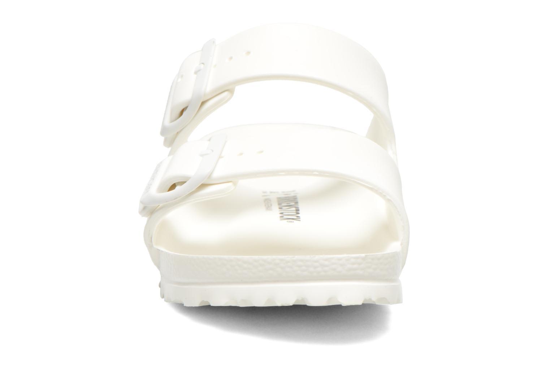 Träskor & clogs Birkenstock Arizona EVA W (Smal modell) Vit bild av skorna på