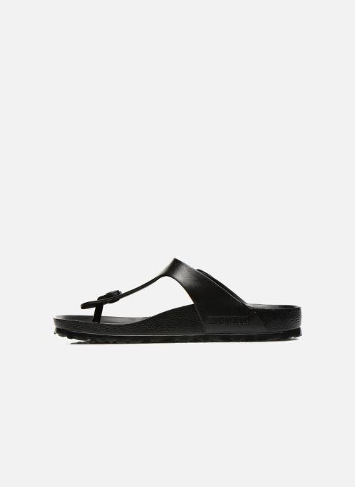 Sandales et nu-pieds Birkenstock Gizeh EVA W Noir vue face