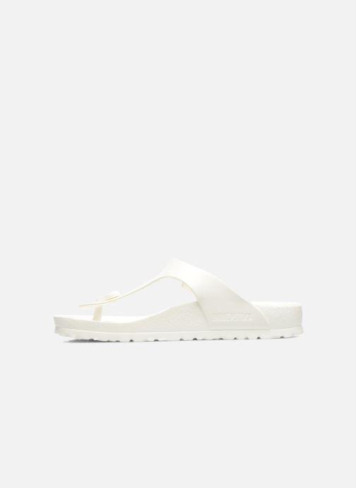 Sandales et nu-pieds Birkenstock Gizeh EVA W Blanc vue face