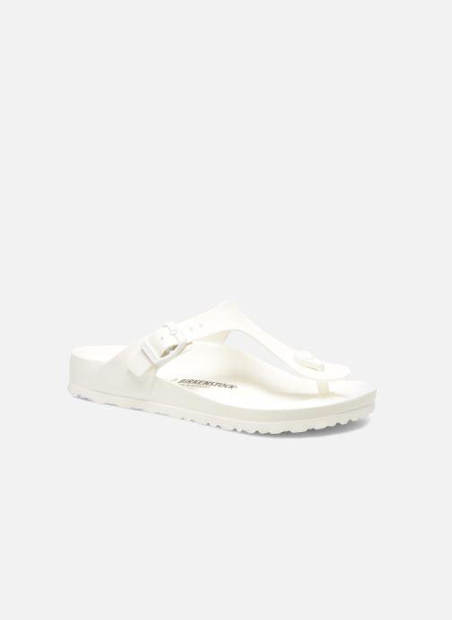 Sandales et nu-pieds Birkenstock Gizeh EVA W Blanc vue détail/paire