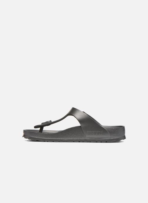 Sandales et nu-pieds Birkenstock Gizeh EVA W Gris vue face