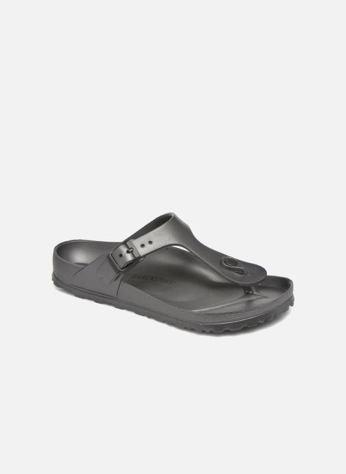 Sandales et nu-pieds Birkenstock Gizeh EVA W Gris vue détail/paire