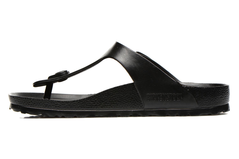 Sandals Birkenstock Gizeh EVA W Black front view