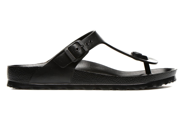 Sandals Birkenstock Gizeh EVA W Black back view