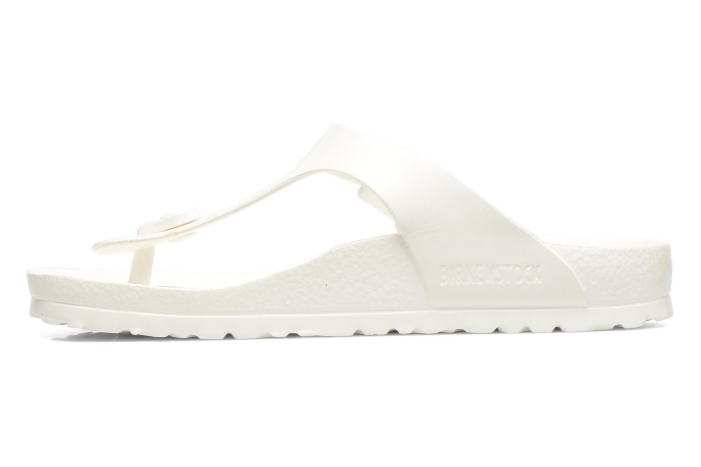 Sandali e scarpe aperte Birkenstock Gizeh EVA W Bianco immagine frontale