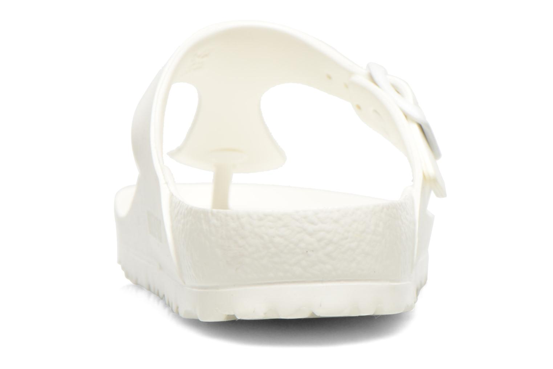 Sandali e scarpe aperte Birkenstock Gizeh EVA W Bianco immagine destra